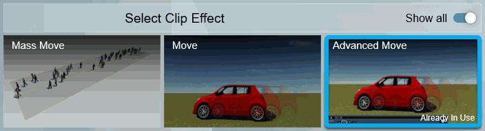 Add an Advanced Move Effect