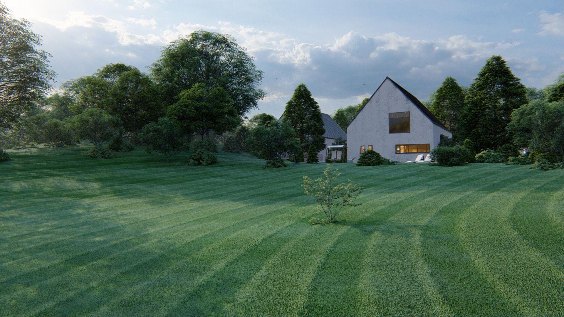 Customizable 3D grasses