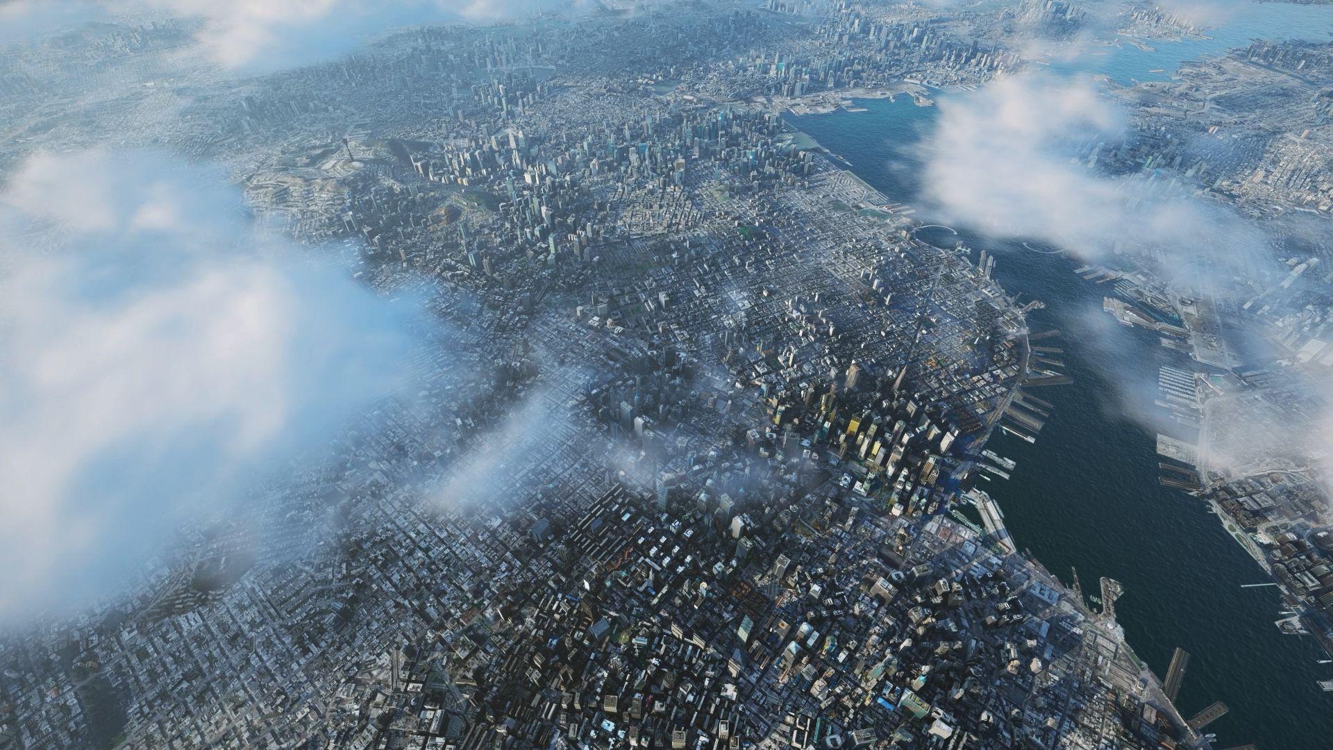 Bird's-eye view of Aedas City