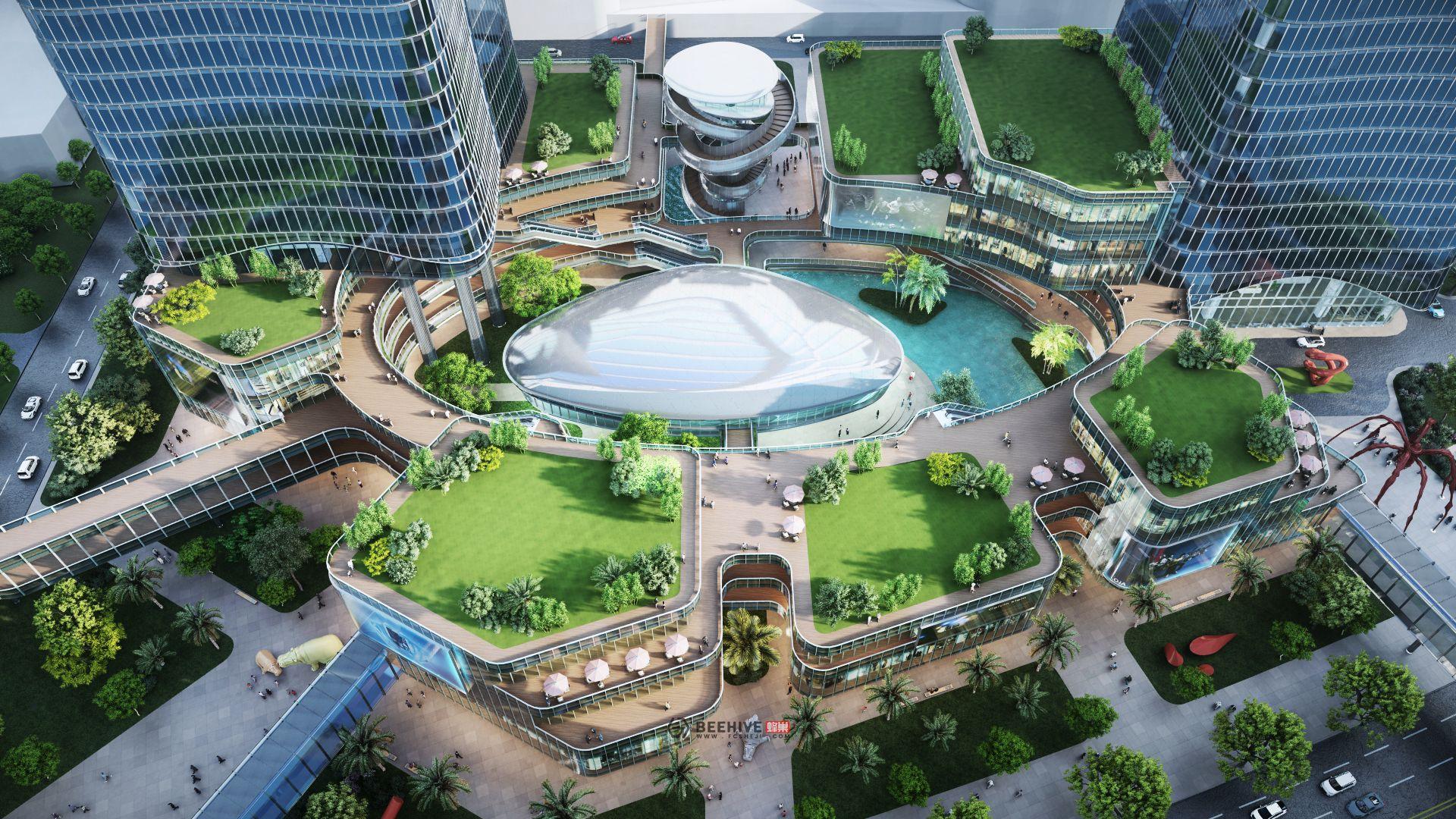 Zhuhai Hengqin International Business Center Phase 2 & 3 Da Heng Qin Building